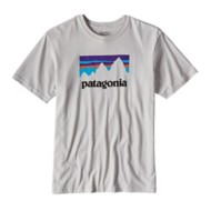 Men's Patagonia Shop Sticker Cotton T-Shirt