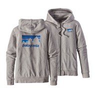 Women's Patagonia Shop Sticker Lightweight Full-Zip Hoody