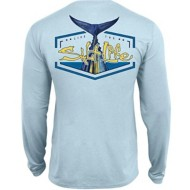Men's Salt Life Tuna Tail Long Sleeve Performance T-Shirt