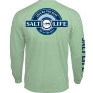 Men's Salt Life Live By The Reel Long Sleeve Pocket T-Shirt