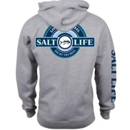 Men's Salt Life Live By The Reel Hoodie