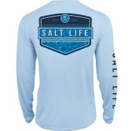 Men's Salt Life Calm Waters Performance Tee