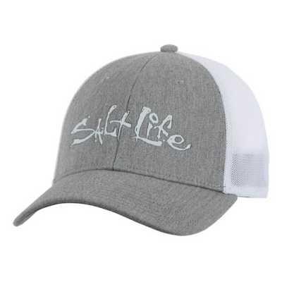 Salt Life Fish Dive Surf Stretch Fit Hat