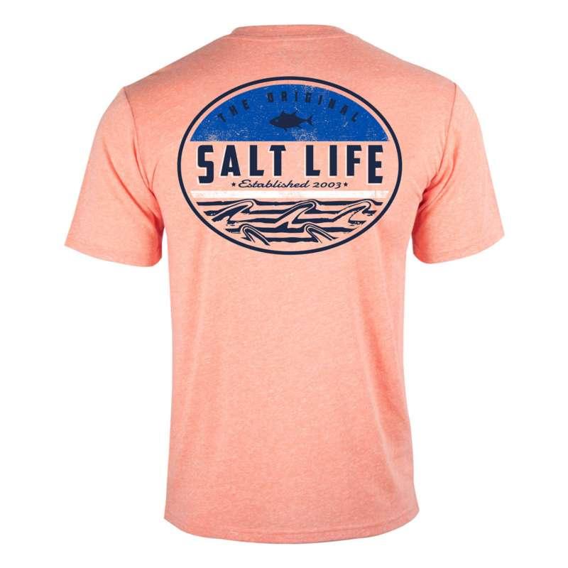 Men's Salt Life Finz Badge Triblend T-Shirt