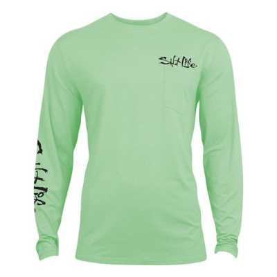 Men's Salt Life Metal Scales SLX LS T-Shirt