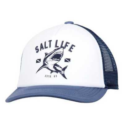 Youth Salt Life Shark Dive Trucker Hat