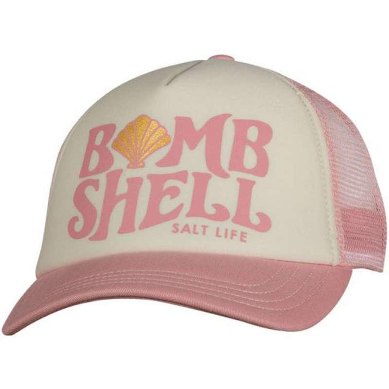 Women's Salt Life Bomb Shell Trucker Hat