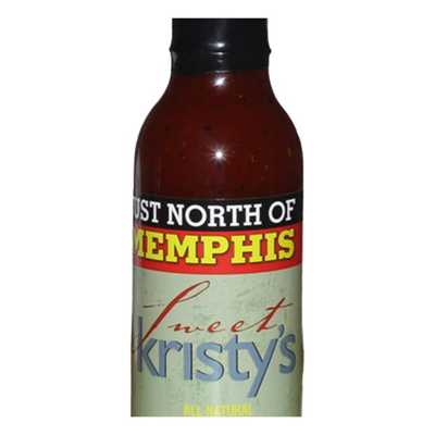 Just North of Memphis Sweet Kristy's BBQ Sauce