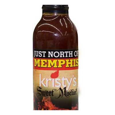 Just North of Memphis Kristy's Mischief BBQ Sauce