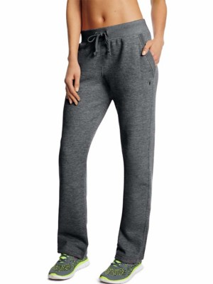 Women's Champion Fleece Open Bottom Sweatpant