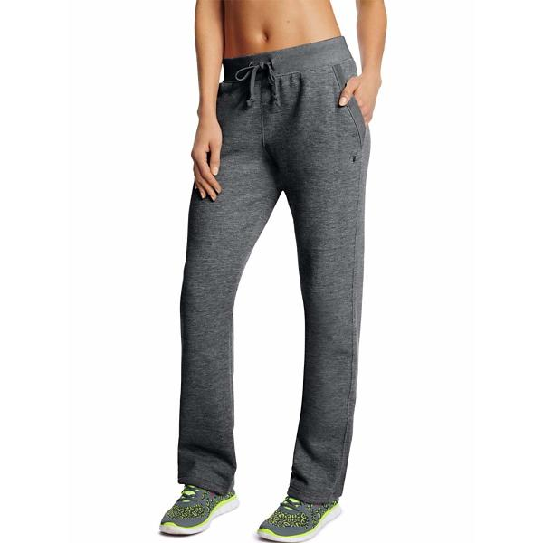 3ab08719954f Tap to Zoom  Women s Champion Powerblend Open Bottom Fleece Pant