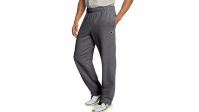 Men's Champion Powerblend Open Bottom Pant