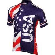 Men's BDI USA Biking Jersey