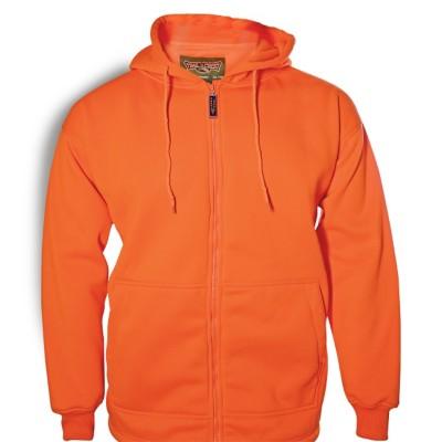Youth Trail Crest Hooded Blaze Orange Sweatshirt