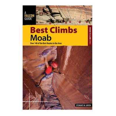Liberty Mountain Best Climbs Moab Book