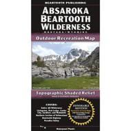 Beartooth Publishing Absaroka Beartooth Wilderness Topographic Map
