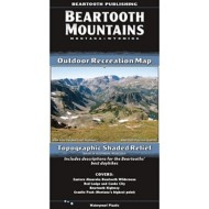 Beartooth Publishing Beartooth Mountains Topographic Map