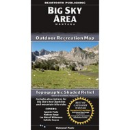Beartooth Publishing Big Sky Area Topographic Map