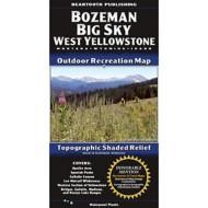 Beartooth Publishing Bozeman Big Sky West Yellowstone Topographic Map
