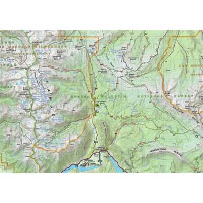Beartooth Publishing Bozeman Big Sky West Yellowstone Topographic Map