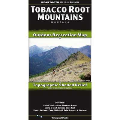 Beartooth Publishing Tobacco Root Mountains Topographic Map