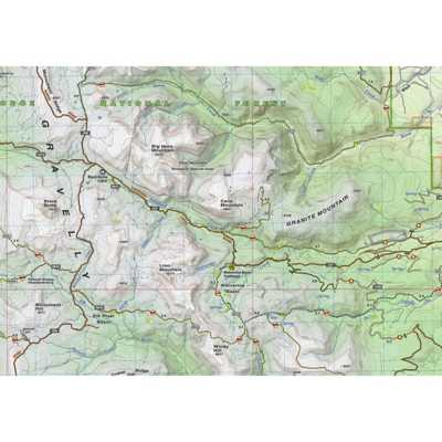 Beartooth Publishing Gravelly Range Topographic Map
