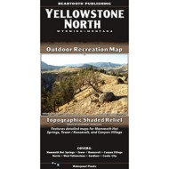 Beartooth Publishing Yellowstone North Topographic Map
