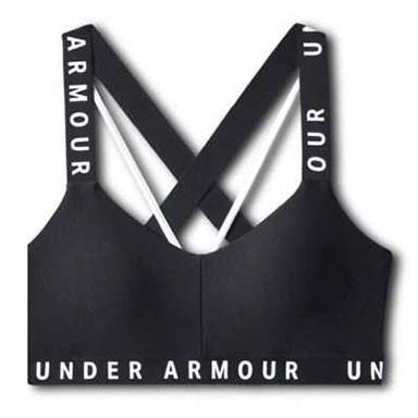 Under Armour Wordmark Strappy Sports Bra