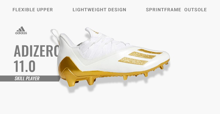 adizero 11.0 football cleats for skill position players