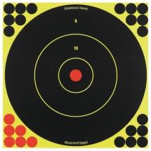 Shoot-N-C 12 Inch Round Bullseye 5 Targets 120 Pasters
