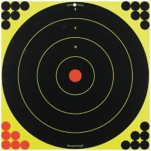 Shoot-N-C 17.25 Inch Bullseye 5 Targets 120 Pasters