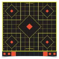 "Birchwood Casey Shoot-N-C Sight-In Targets 12"" 5 Targets 60 Pasters"