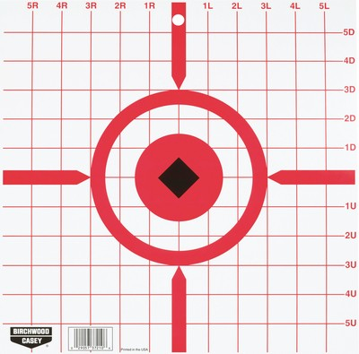 Rigid Paper Target Crosshair Sight-In 12 Inch 10 Per Package' data-lgimg='{