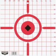 Rigid Paper Target Crosshair Sight-In 12 Inch 10 Per Package