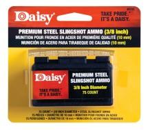 Steel Slingshot Ammunition .375 Inch 75 Per Pack