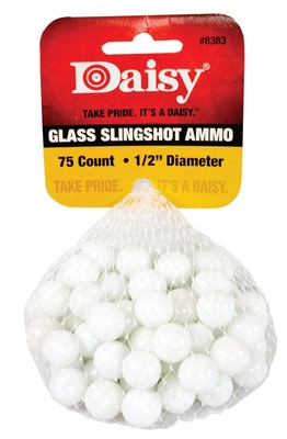 Glass Slingshot Ammunition .50 Inch 75 Per Pack' data-lgimg='{