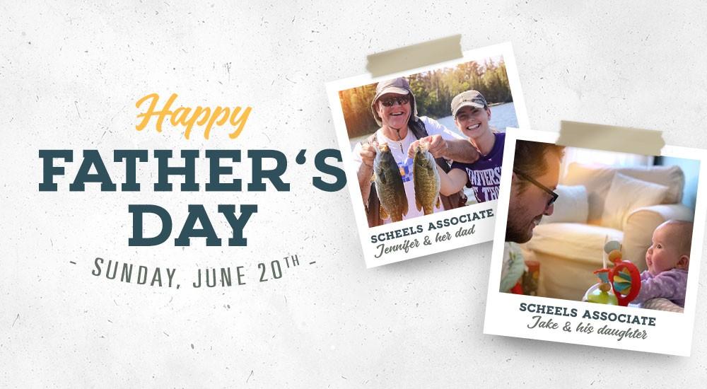 scheels associates with their dads