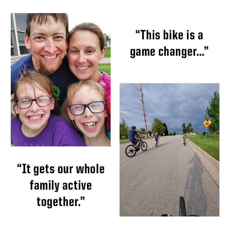 Family Biking Photo