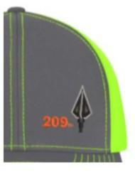Area Code Art Broadhead Trucker Hat