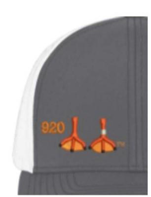 Area Code Art Duck Feet Trucker Hat