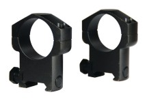 Law Enforcement Mark 4 30mm Rings Medium Matte
