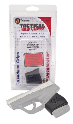 Tactical Slip-On Grip Glove Fits Ruger LCP/Taurus TCP/Kel-Tec P-3AT/P32