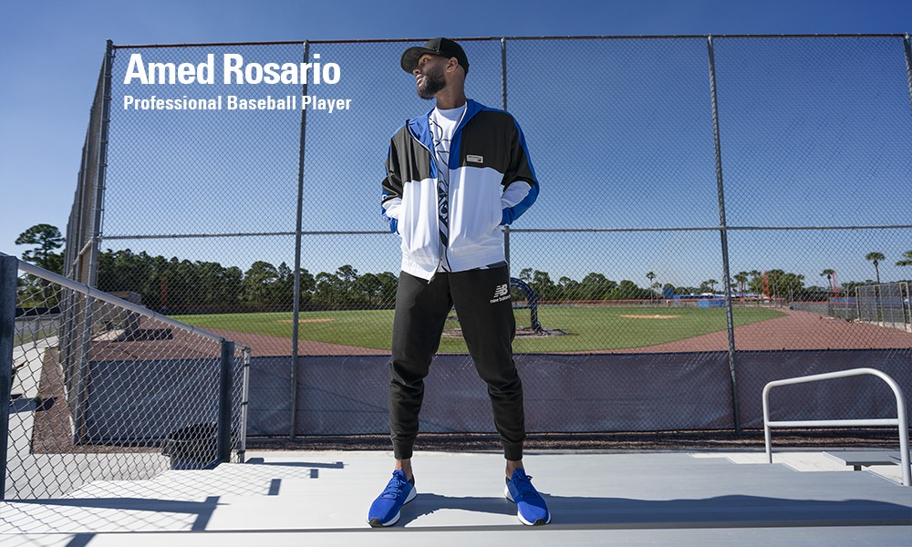 New Balance Lifestyle | Amed Rosario, Professional Baseball Player