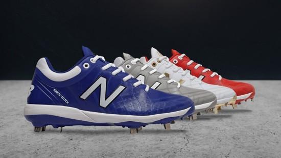 New Balance metal baseball cleats