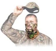 Primos Stretch Fit 1/2 Mask Realtree APG HD