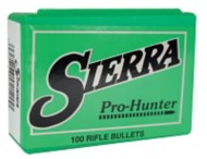 Pro-Hunter Bullets .308 Diameter (.30-30) 125 Grain Hollow Point Flat Nose