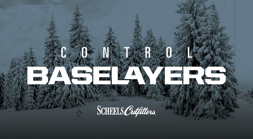 SCHEELS Outfitters Control Baselayers