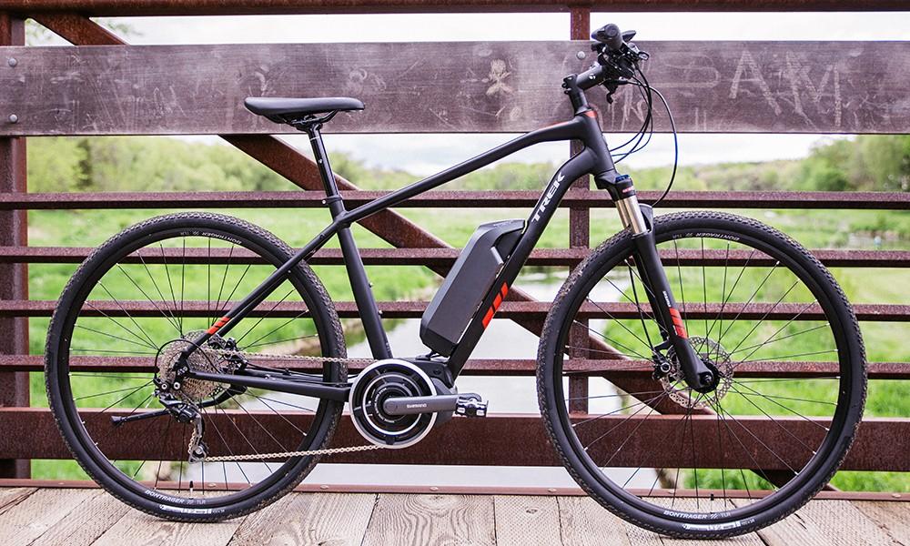 An electric bike from Trek
