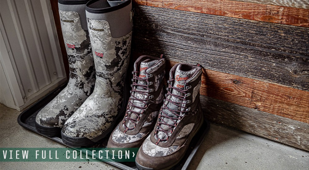 Scheels Outfitters West River Camo Boots