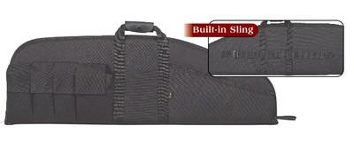Tactical Gun Case 6 Pockets 42 Inch Black